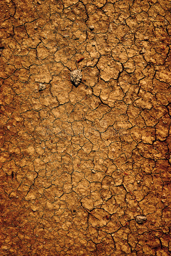 Background of dried parched earth dirt ground. Detail background of dried parched earth dirt ground stock image