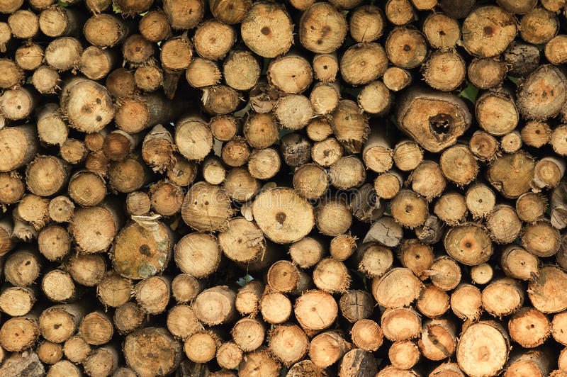 Background of dry chopped firewood logs stacked up on top of each other in a pile. Background of dry chopped firewood logs stacked up on top of eac with detail royalty free stock images