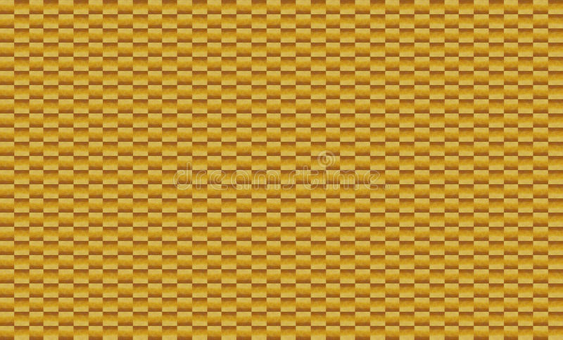 Background of elements of small square brown mosaic tiles stock photo