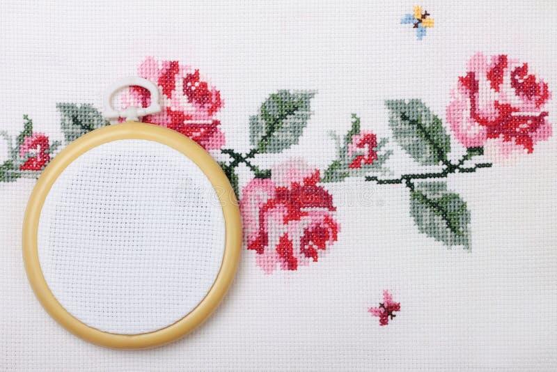 Cross-stitch royalty free stock image