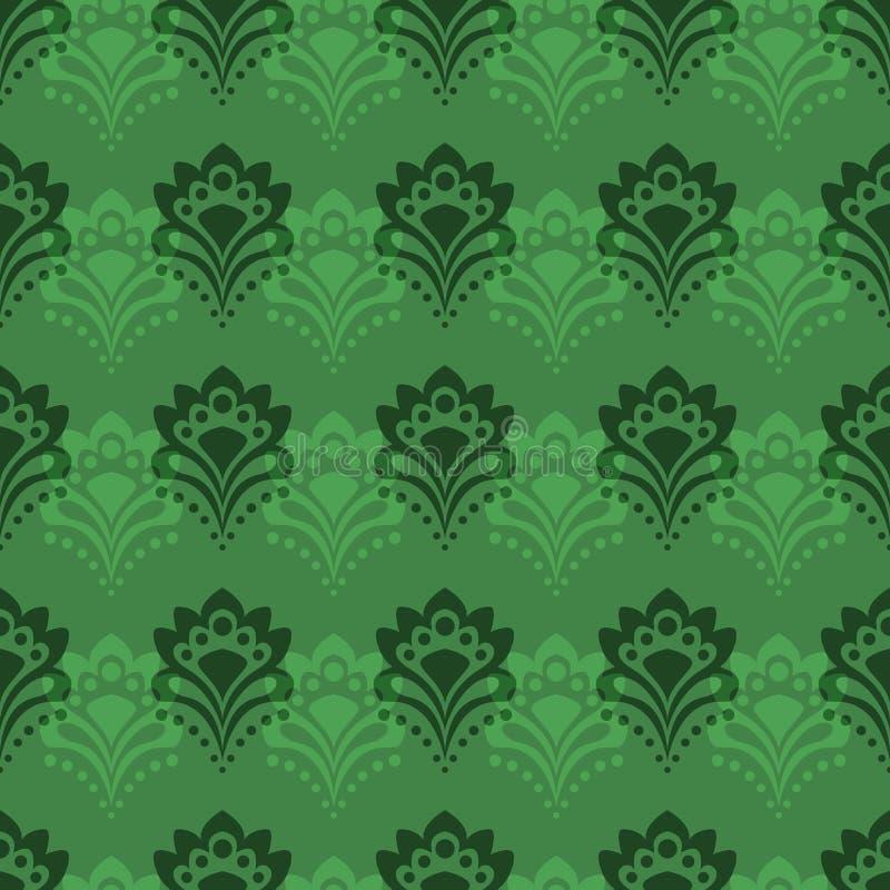 Download Background - Emerald Flowers Stock Vector - Image: 24973712
