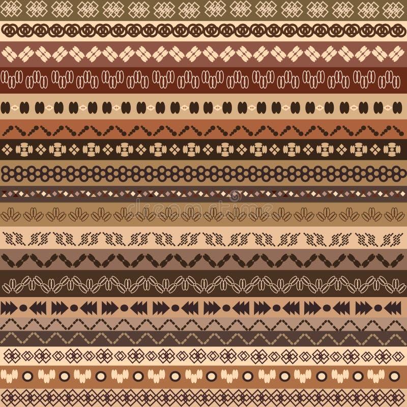 Download Background ethnic pattern stock illustration. Image of motifs - 25197374