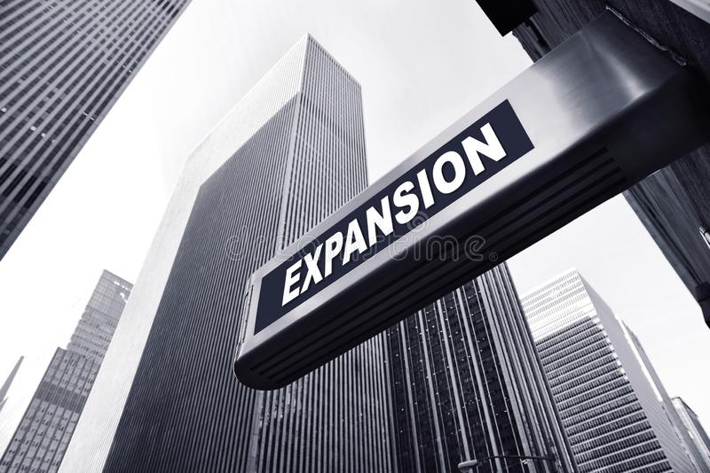 Expansion stock image