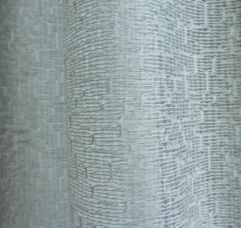 Background Fabric curtain with abstract pattern royalty free stock photo