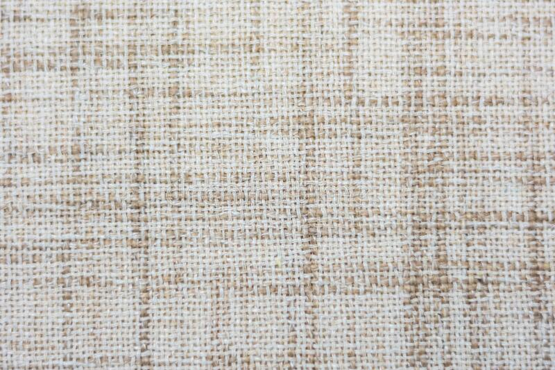 Background fabric texture. Background from textile - withe, brown stock photos
