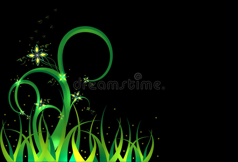 Download Background - a fairy grass stock illustration. Image of place - 20018196