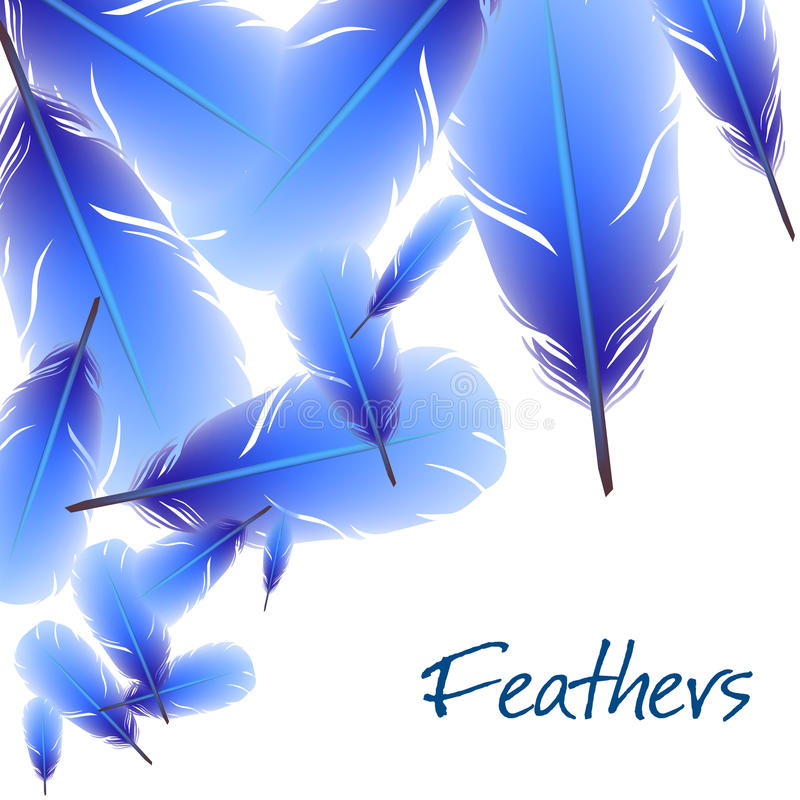 Download Background With Feathers Royalty Free Stock Photography - Image: 36272437