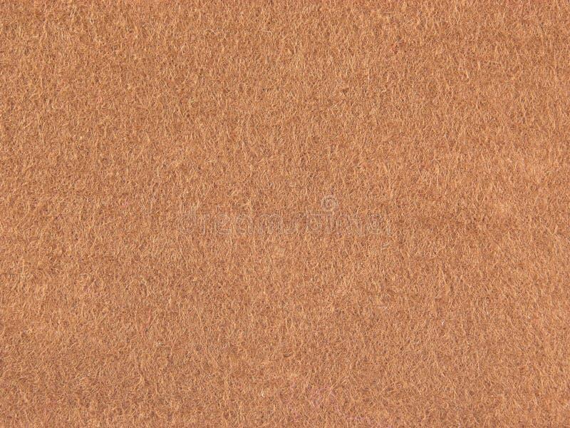 Download Background Felt Light Brown Stock Photo - Image: 7842300
