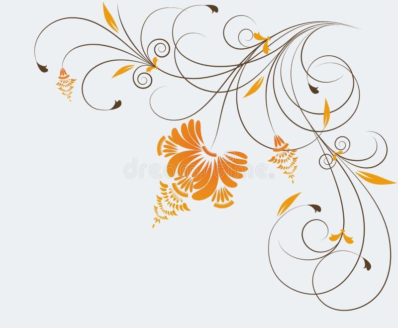 background floral иллюстрация штока