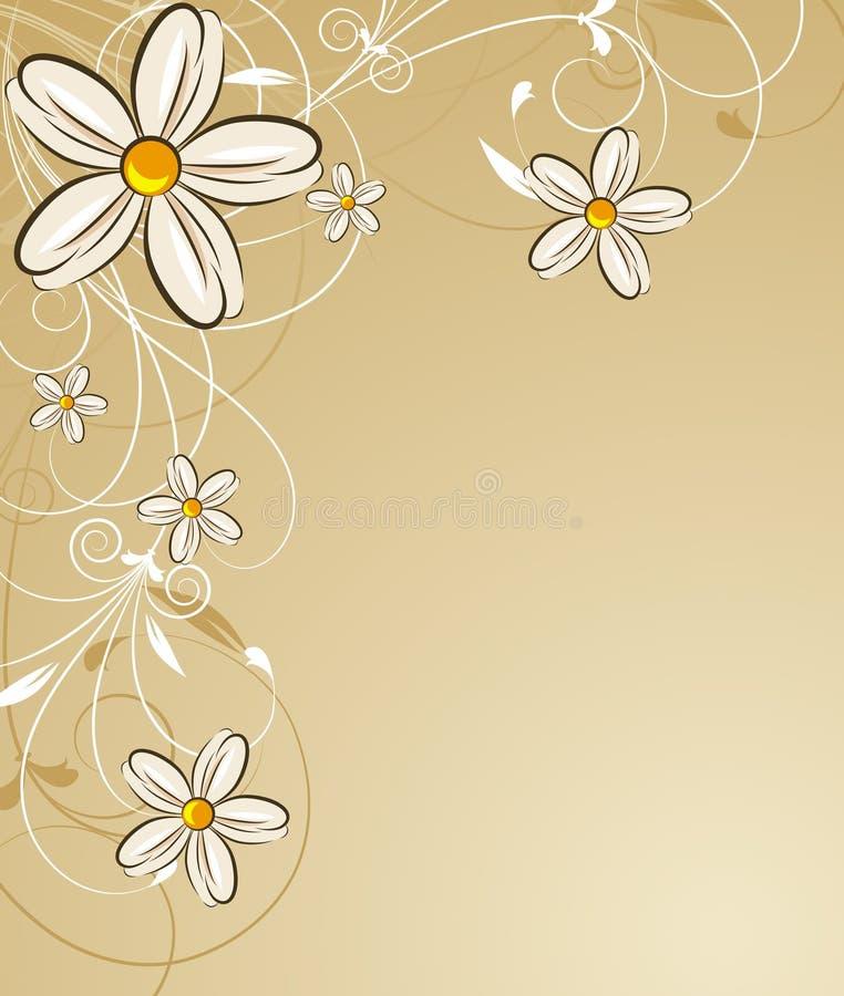background floral бесплатная иллюстрация