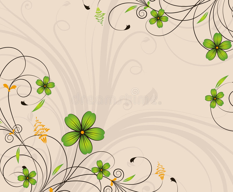 background floral иллюстрация вектора