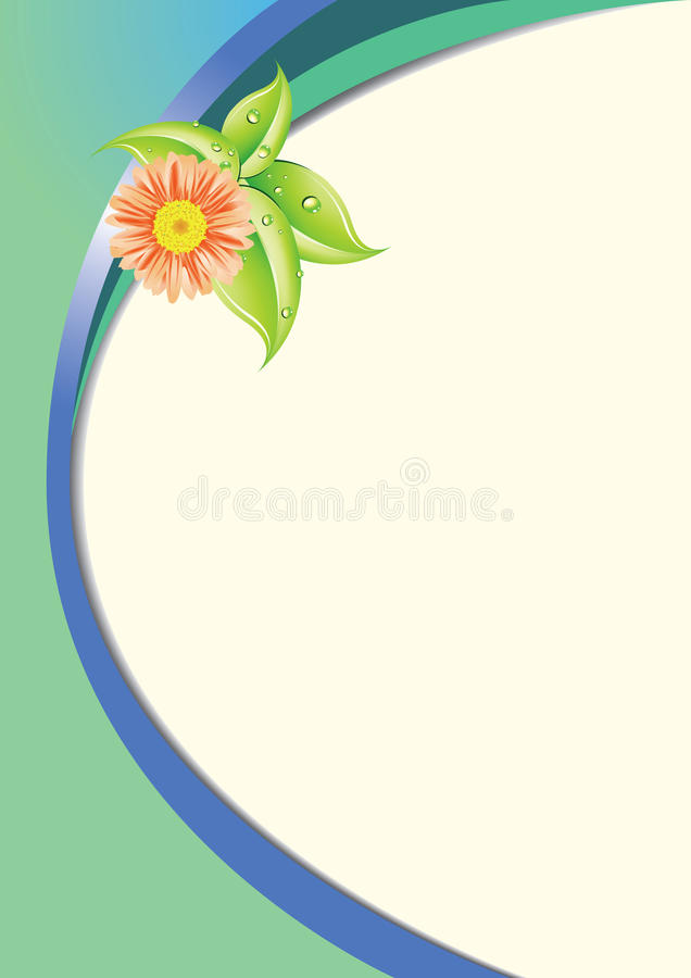 Background Floral -EPS Vector- Stock Photography