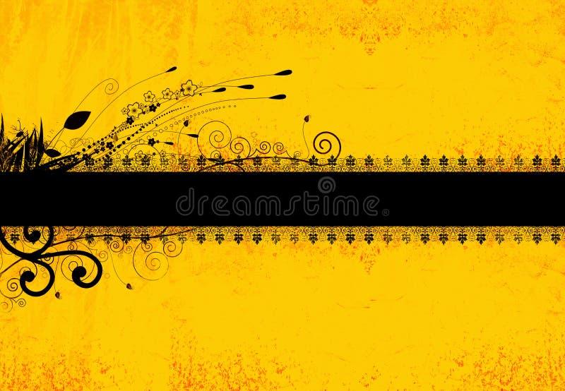 background floral grunge бесплатная иллюстрация