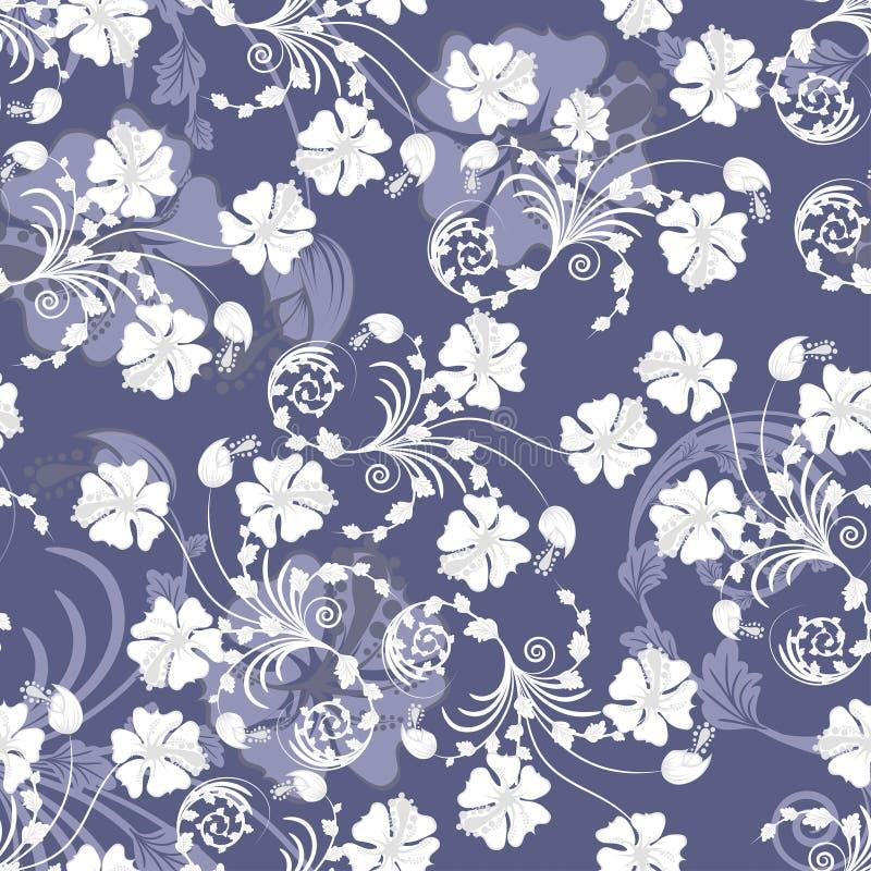 background floral seamless иллюстрация вектора