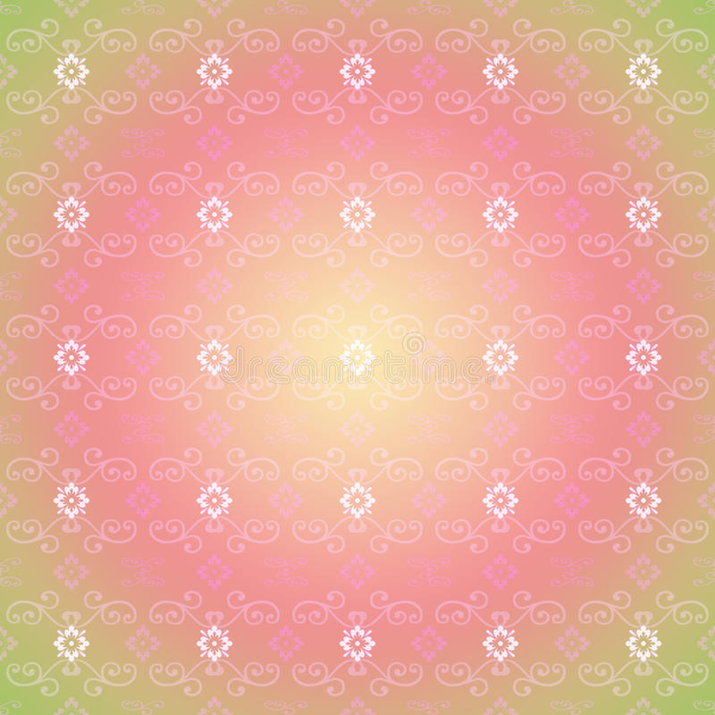 background floral seamless иллюстрация штока