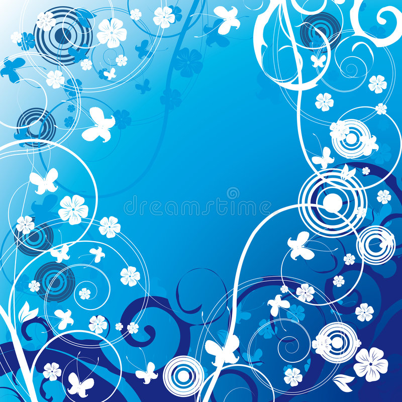 Download Background with flower stock vector. Illustration of nature - 8189883