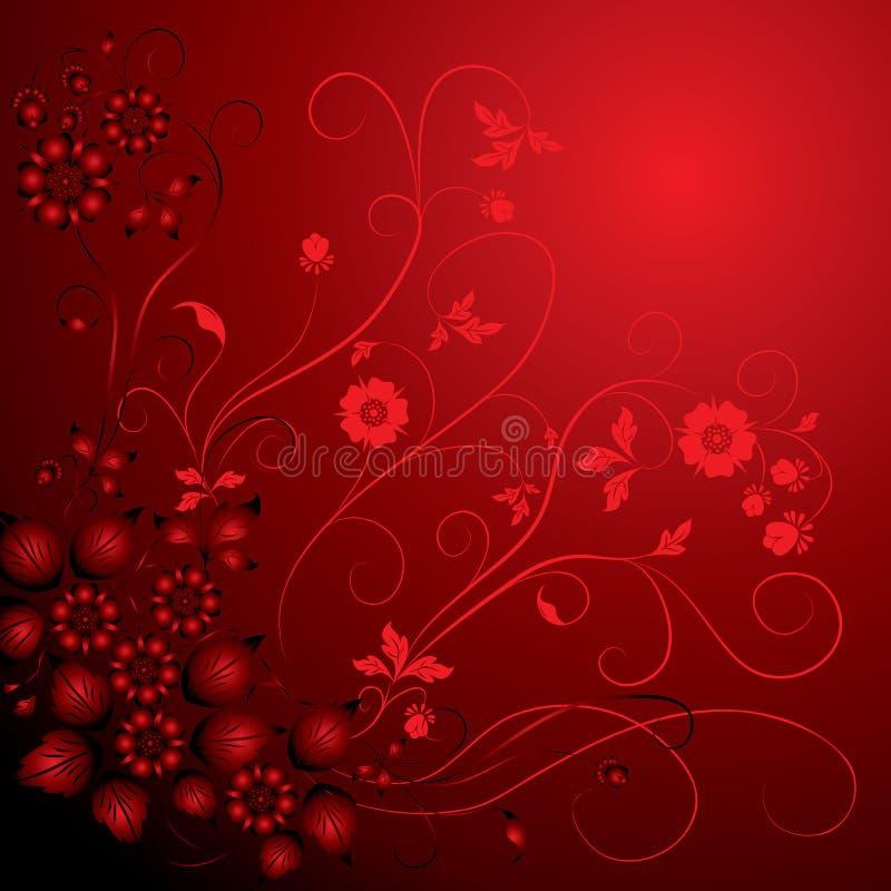 Background flower, elements for design, vector stock illustration