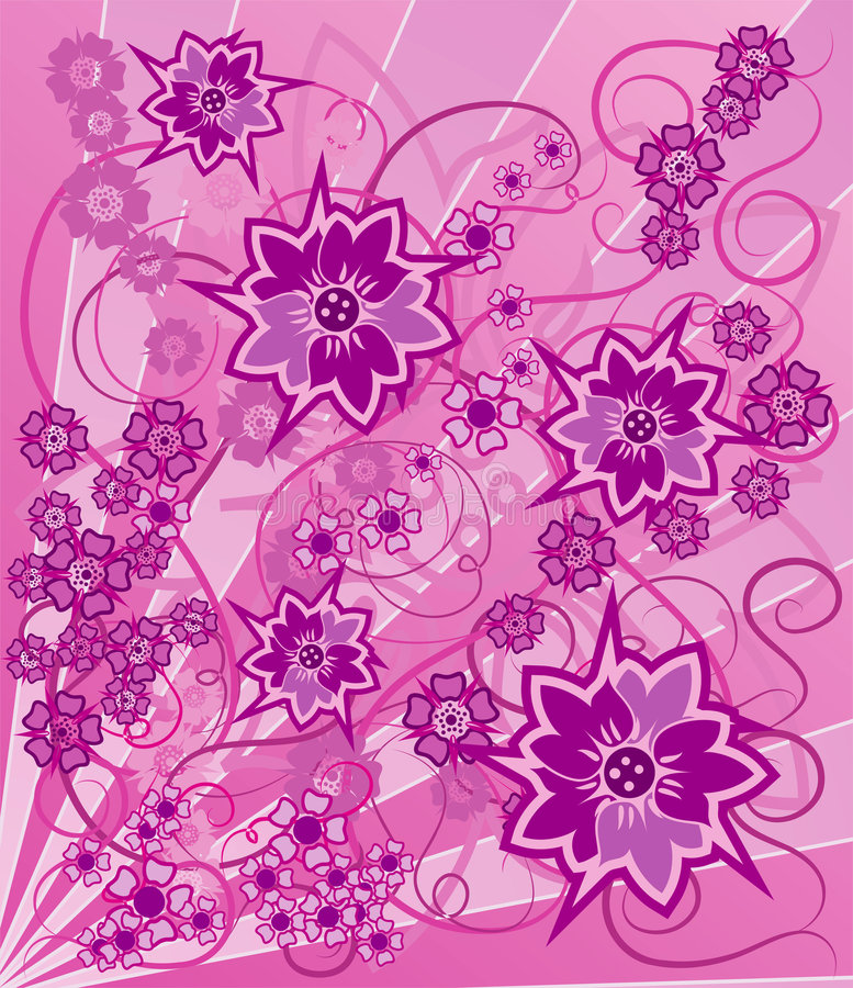 Background Flower, Elements For Design, Vector Royalty Free Stock Photography