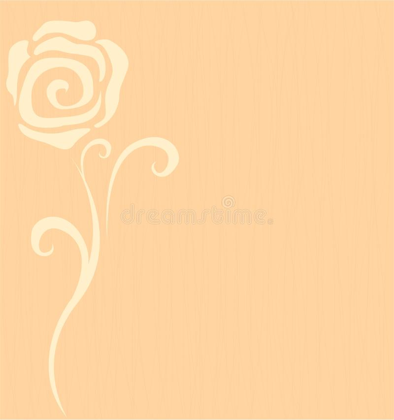Background With A Flower Rose Stock Images