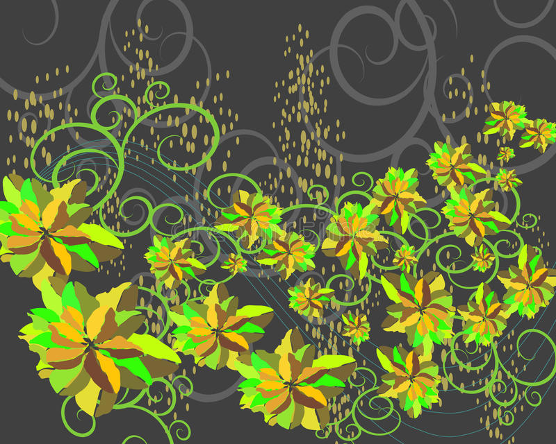 Download Background With Flowers Royalty Free Stock Photography - Image: 25898587