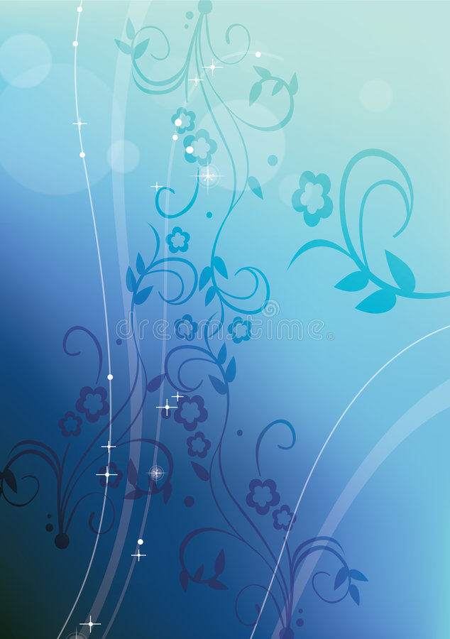 Background flowers stock illustration