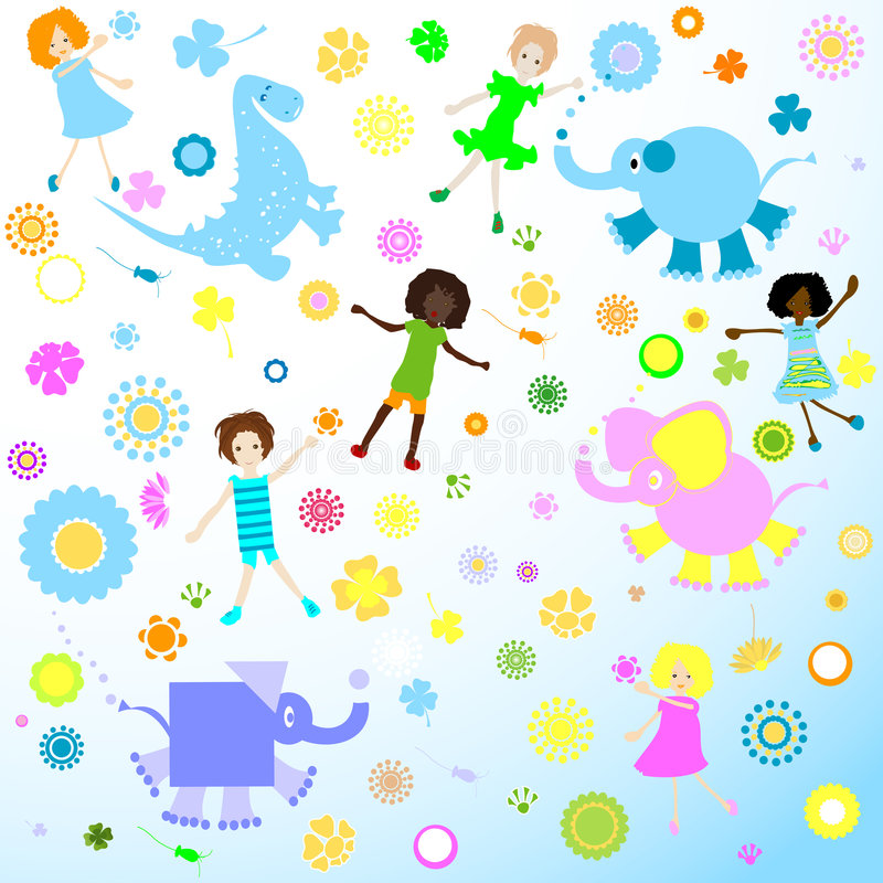 Free Background For Kids Royalty Free Stock Photos - 4974658
