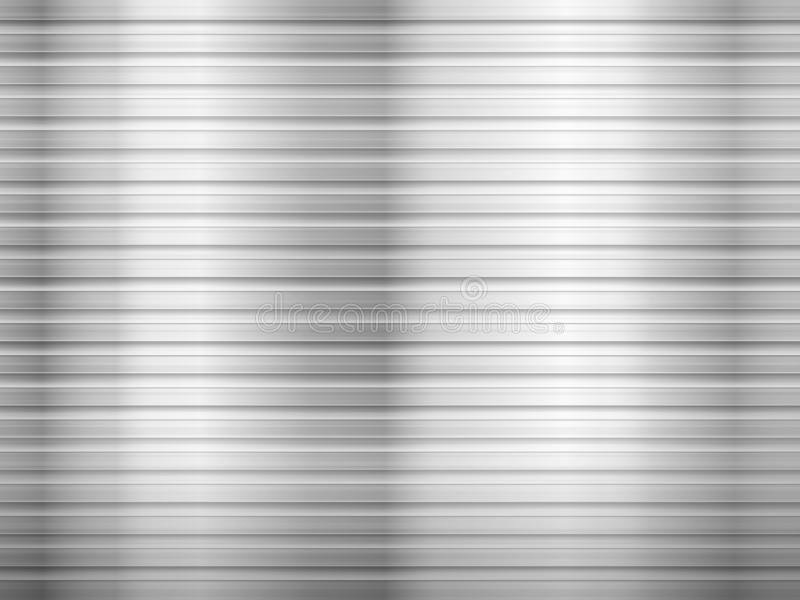 Corrugated metal sheet. Background formed by corrugated metal sheet. Vector illustration stock illustration
