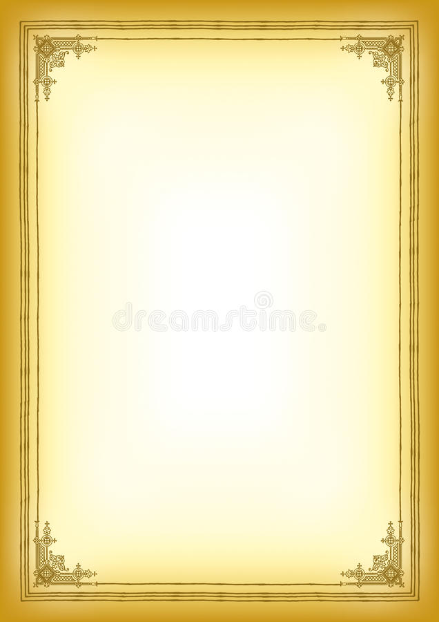 Download Background with frame stock vector. Illustration of church - 23593034