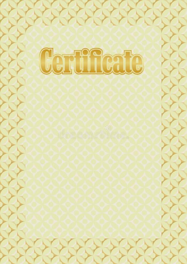 Download Background Frame Certificate Stock Vector - Illustration: 35496929