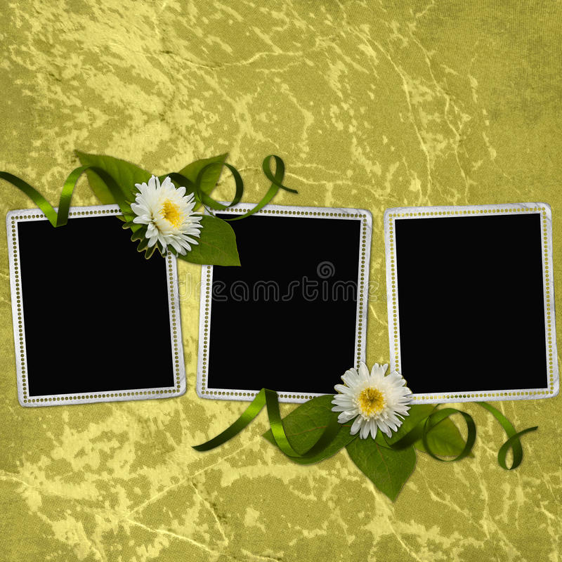 Background With Frames Royalty Free Stock Image