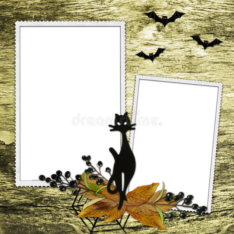 Download Background with frames stock illustration. Image of announcement - 11492157