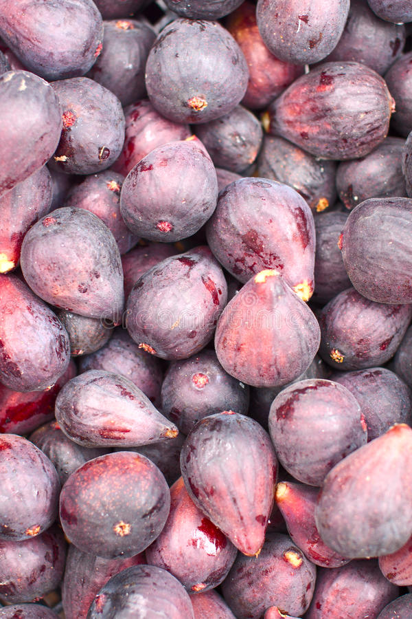 A Background Of Fresh Figs Royalty Free Stock Image