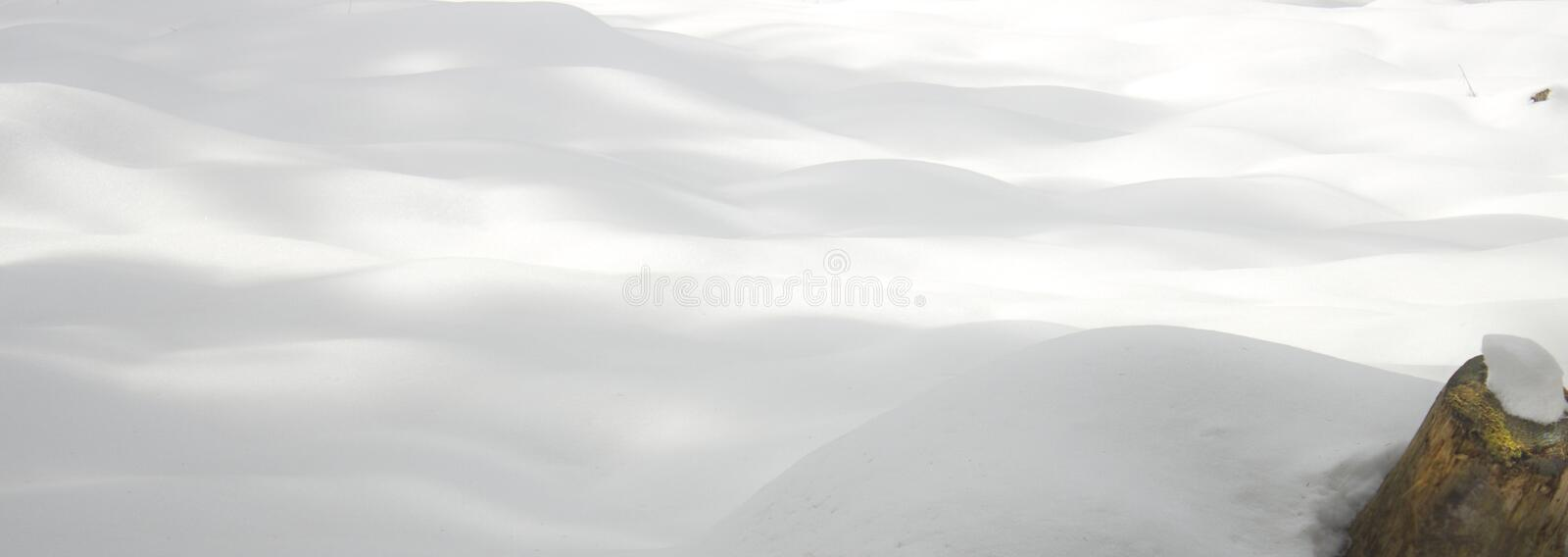 Background of fresh snow stock images