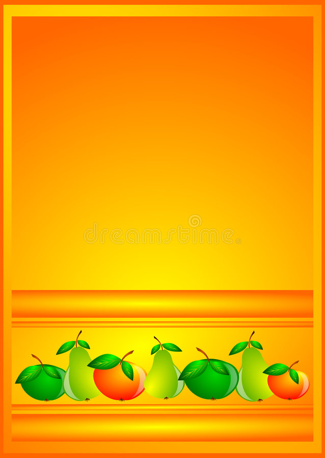 Download Background fruit stock illustration. Image of apple, pears - 9205127