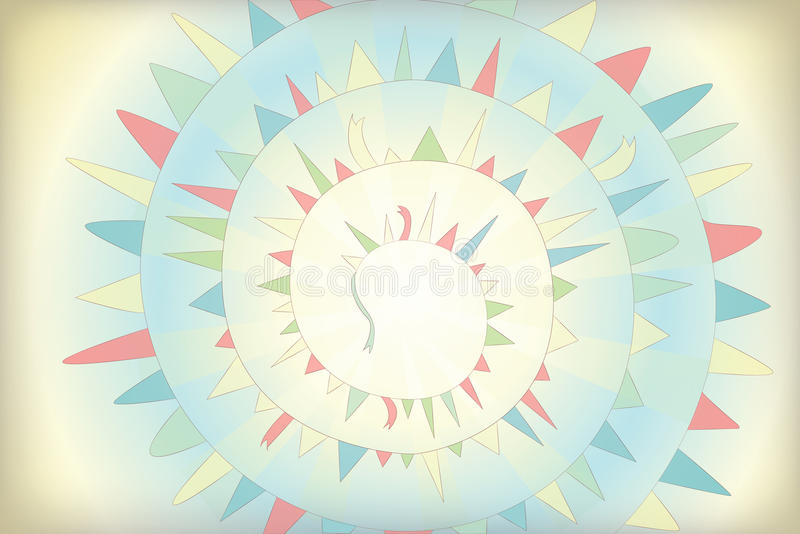 Download Background with garland stock vector. Illustration of sports - 24228400