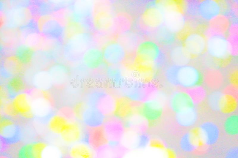 Background gentle lights confetti royalty free stock photos