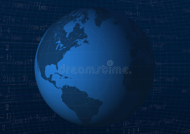 Download Background with globe stock illustration. Illustration of background - 27069934
