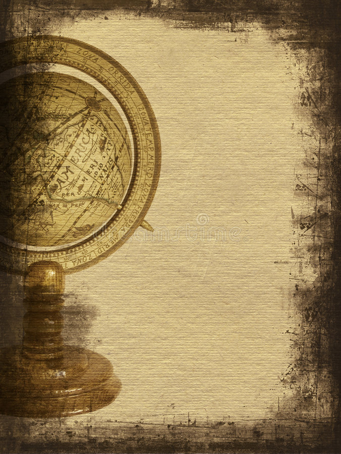 Background with globe stock photos