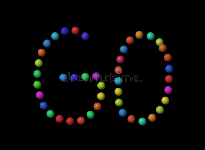 Download Background ,,GO,, stock image. Image of colors, color, black - 29821