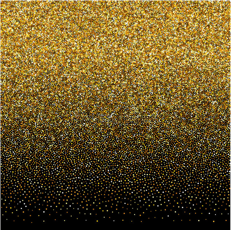 Background with gold gradient texture on black backdrop. Vector background with gold gradient texture on black backdrop vector illustration