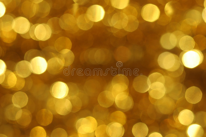 Background of golden circles stock image