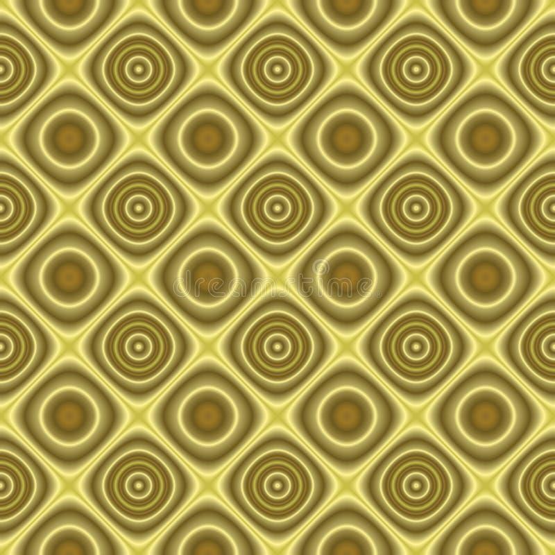 background golden retro seamless texture tilable διανυσματική απεικόνιση