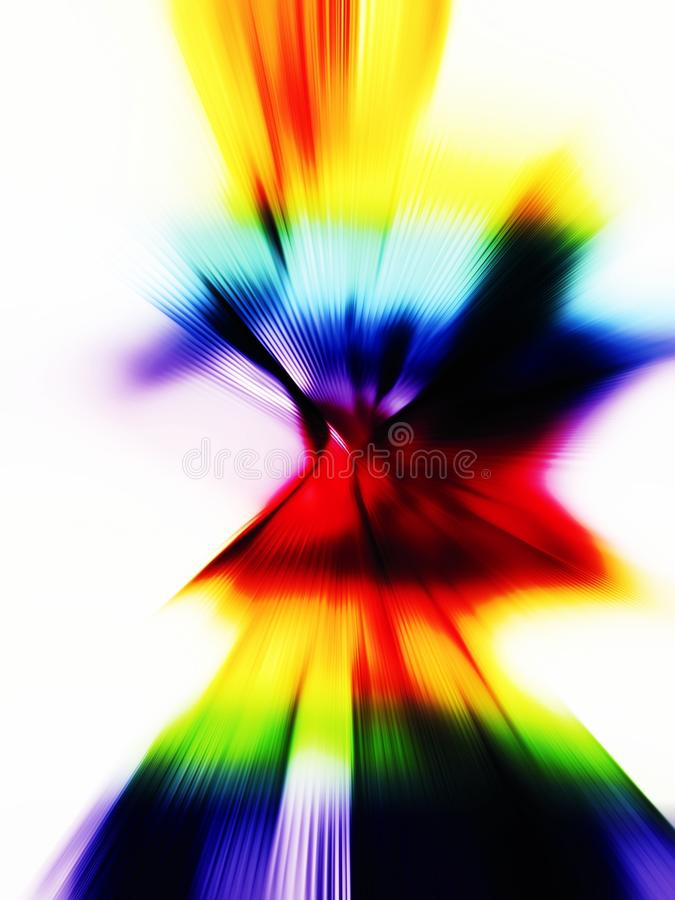 Background gradient, light and lines, radial shape. Photo of abstract image, background gradient with the light and several colors, design and luxury. Improve royalty free stock image