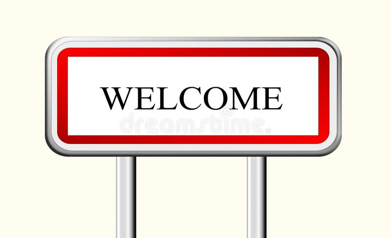 Welcome Sign Symbol Stock Photo Image Of Nobody Symbol 62343786