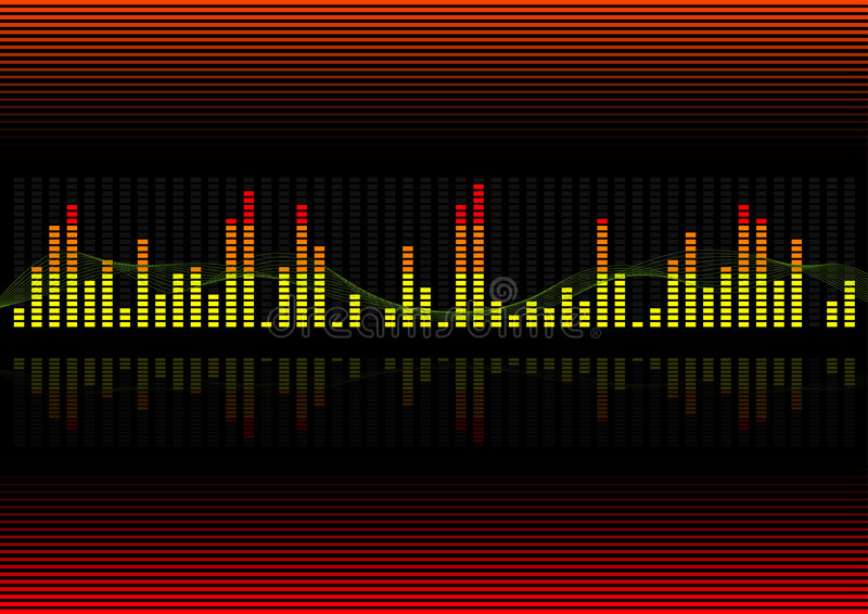 Background - Graphic equalizer