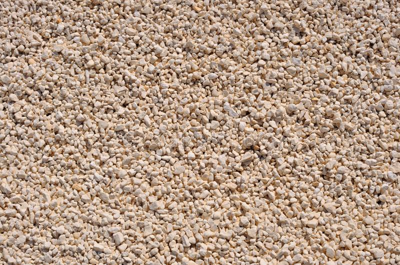Download Background Of Gravel Crushed Limestone Stock Image - Image: 26095153
