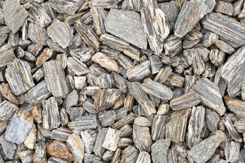 Background from gray decorative stones. royalty free stock photography