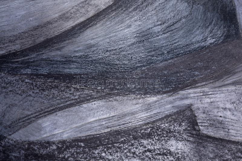 Background, Gray, metallic, abstract painting,black and white drawing royalty free stock photo