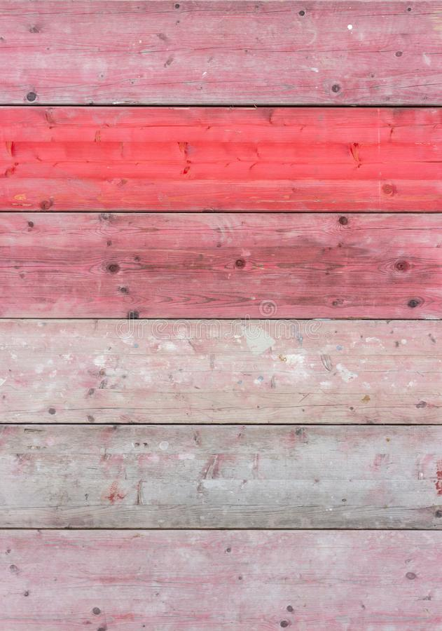Download Red wooden boards stock photo. Image of pink, pattern - 115929908