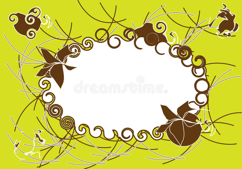 Download Background green stock vector. Image of card, abstract - 17376211